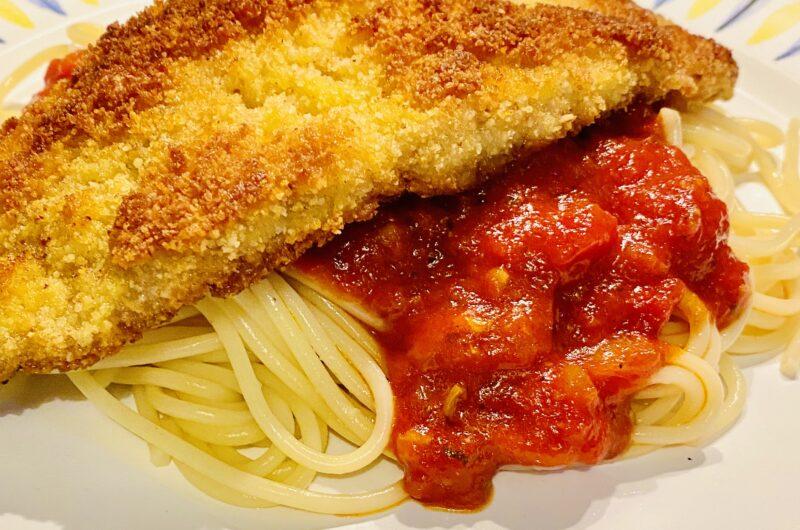 Piccata Milanese- Spaghetti mit Schnitzel